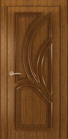 Дверь Румакс Карелия-2 ДГ, цвет орех, глухая