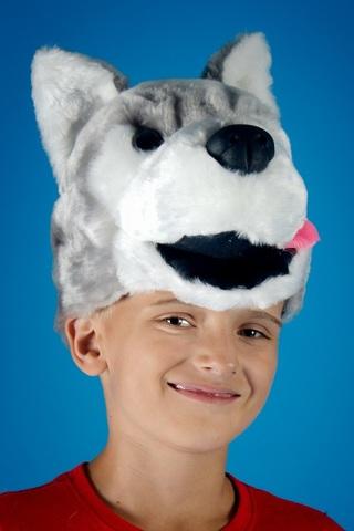 Карнавальная шапочка Волк 1
