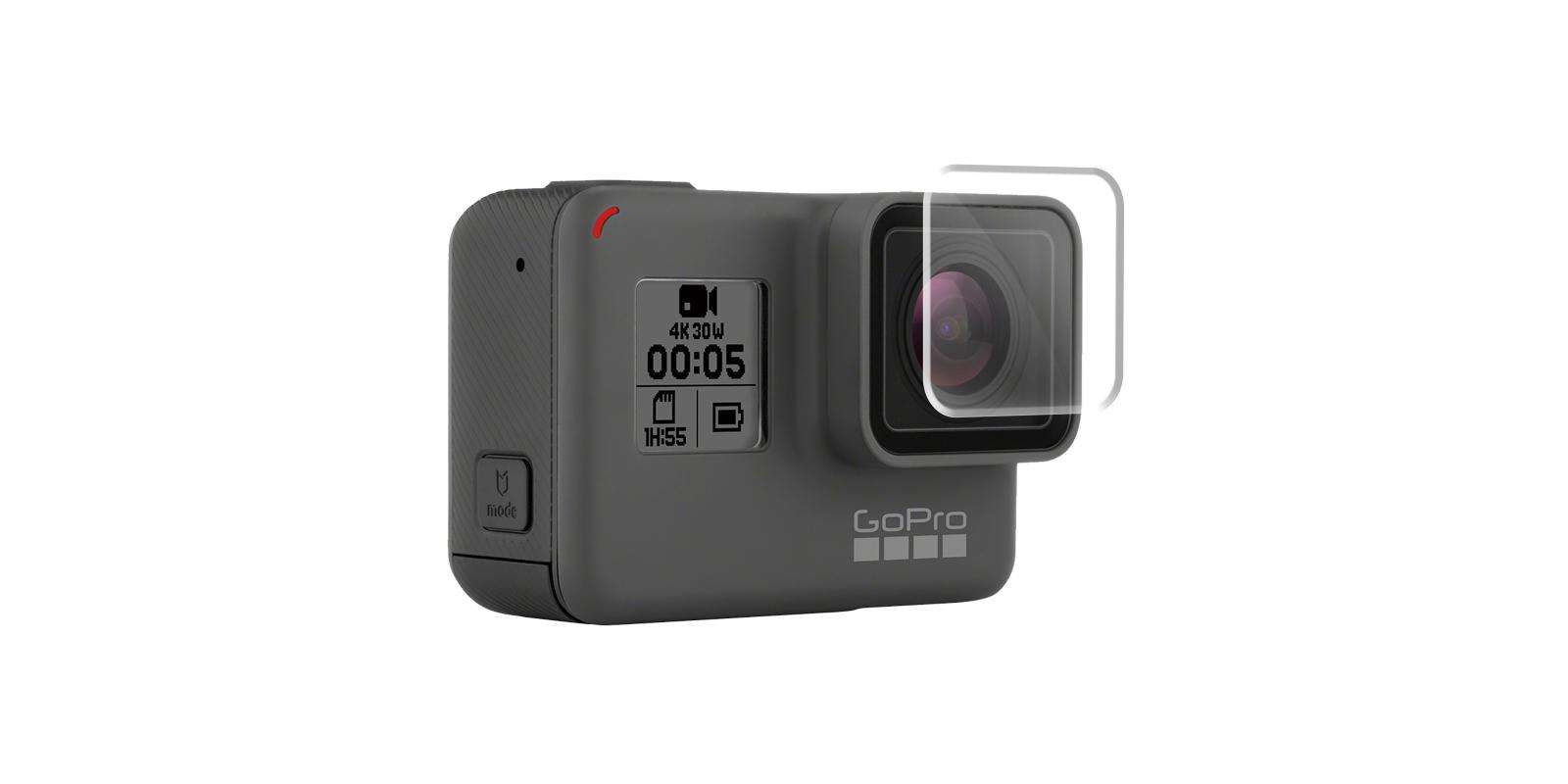 Набор защитных стекол для камеры GoPro HERO защита линзы