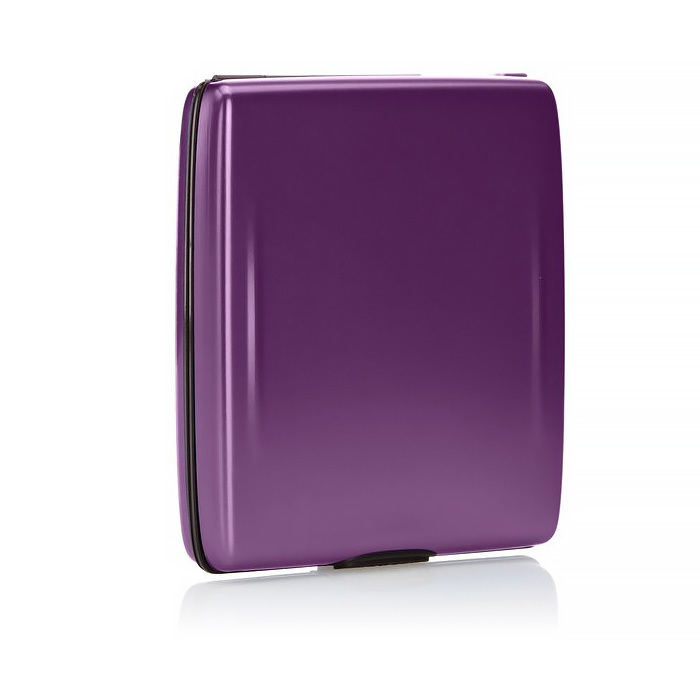 Кошелек c защитой Tru Virtu BELUGA, цвет лиловый, 107*93*22 мм