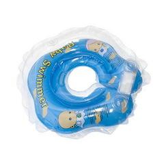 Baby-Krug. Детский круг для купания на шею, 0-24 мес. голубой (полуцвет)