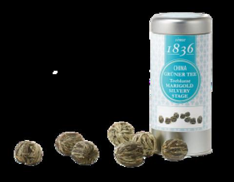 Китайский зеленый цветущий чай Мэриголд Силвери Стейдж