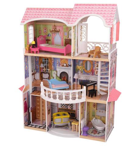 KidKraft Магнолия - кукольный домик с мебелью (в подарочной упаковке) 65907_KE
