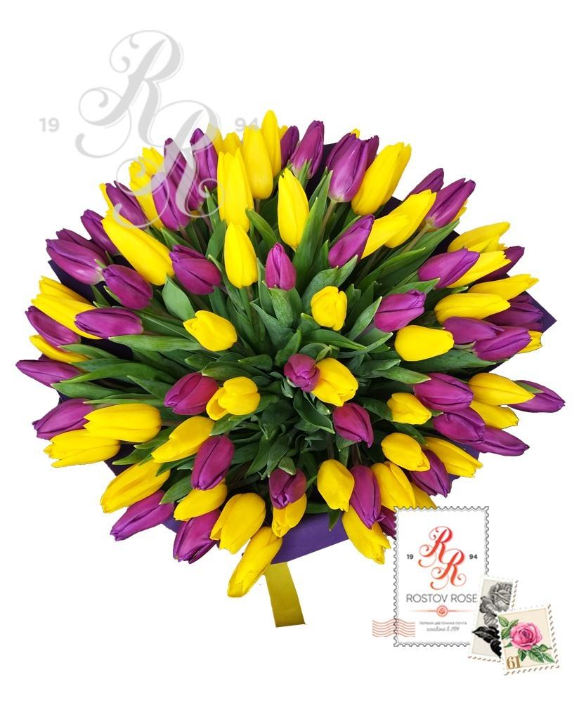 25 Фиолетово-желтый микс