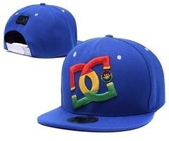 Кепка DC Shoes (Бейсболка) синяя