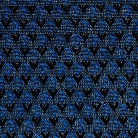 V 03-1 синий ромбик черный