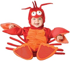 InCharacter Costumes Baby - lobster