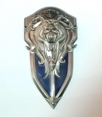 World of Warcraft Alliance Logo Shield Metal