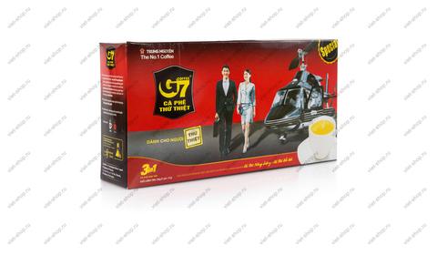 Вьетнамский растворимый кофе G7 3 в 1, Original, 21 пак.
