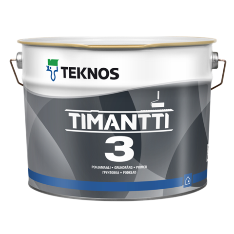 TEKNOS TIMANTTI 3/Текнос Тиманти 3 Износостойкая акрилатная краска