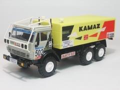 KAMAZ-4310 Rally Objectif Sud #502 Elecon 1:43