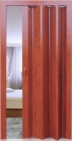 Дверь  Фаворит, цвет вишня, глухая