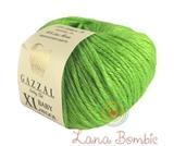 Пряжа Gazzal Baby Wool XL салатный 821