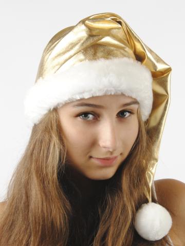 Новогодний Колпак золото