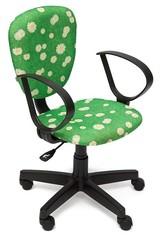 """Кресло СН413 — принт """"Ромашки на зеленом"""""""