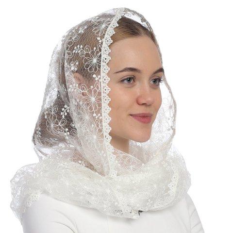 Снуд-шарф в церковь  Сказка