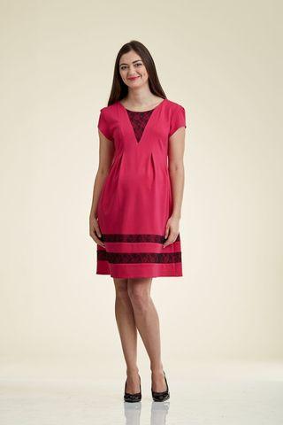 Платье 06174 розовый