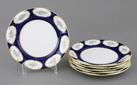 Набор тарелок мелких 25 см 6 штук Соната Leander