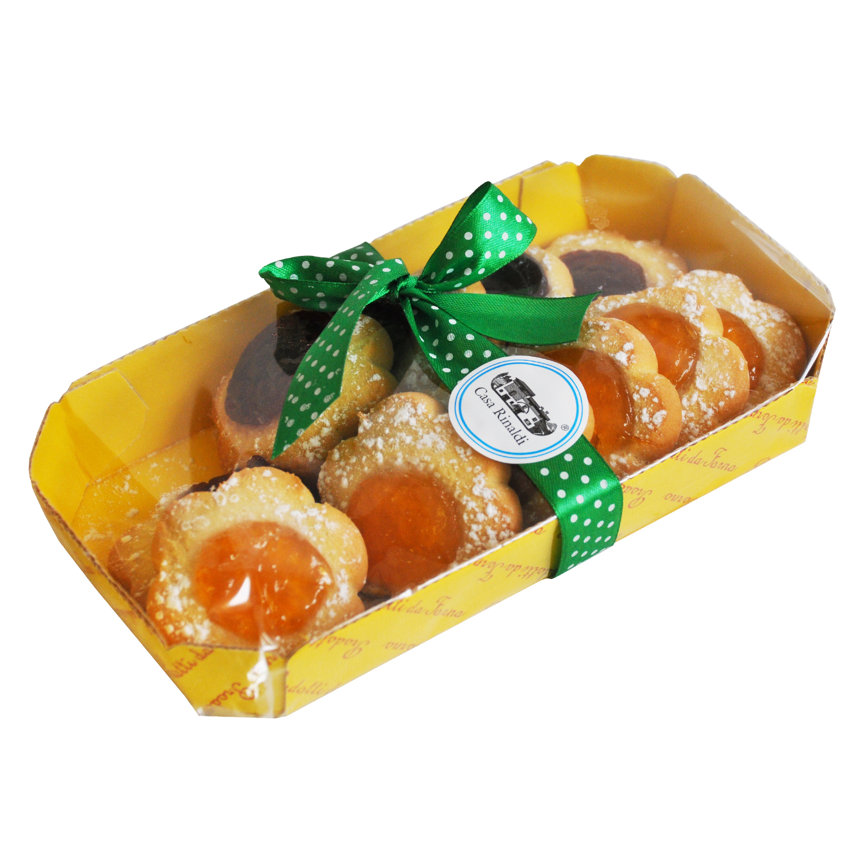 Печенье Маргарита с джемом из вишни и абрикоса