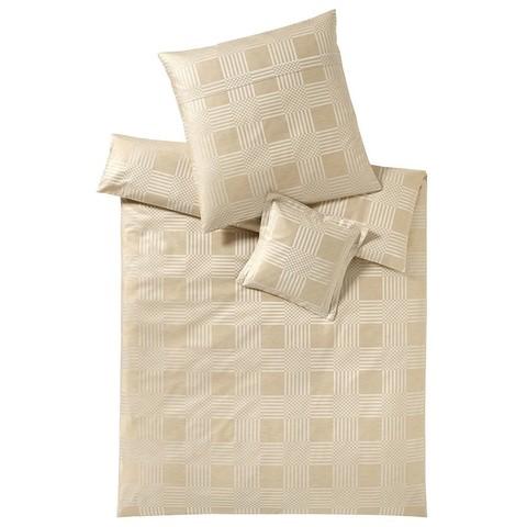 Постельное белье 2 спальное евро Elegante Palladium песочное