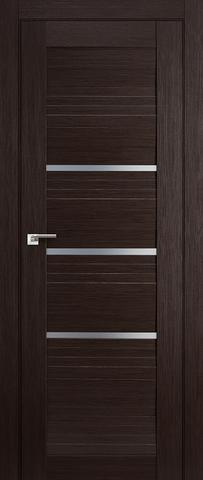 > Экошпон Profil Doors №18X-Модерн, стекло матовое, цвет венге мелинга, остекленная