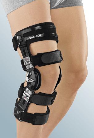 Бандажи и ортезы на коленный сустав с регулируемыми шарнирами Регулируемый жесткий коленный ортез protect.4 OA medi-protect.4OA_enl.jpg
