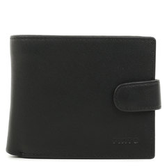 п023 Fiato  кожа наппа черный  (портмоне мужской)