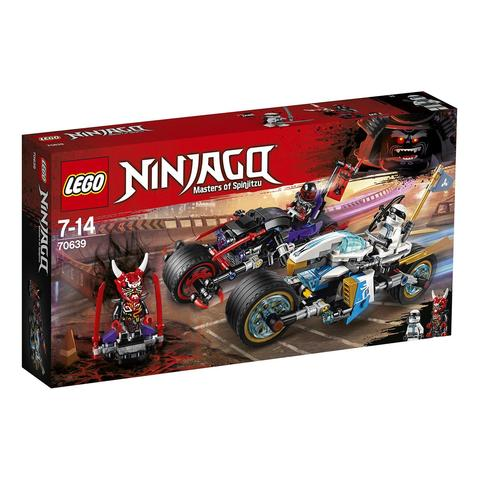 LEGO Ninjago: Уличная погоня 70639 — Street Race of Snake Jaguar — Лего Ниндзяго