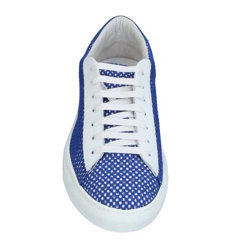 Сине-белые кеды BePositive Made in Italy