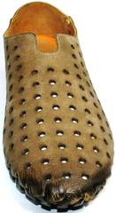 Бежевые мокасины мужские Luciano Bellini 107703 Beige.