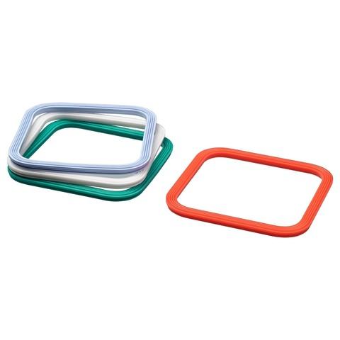 ИКЕА/365+ Уплотнительная прокладка четырехугольной формы, разные цвета разные цвета