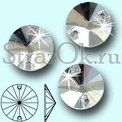 Купите стразы пришивные Rivoli Crystal, Риволи Круг Кристал прозрачные оптом