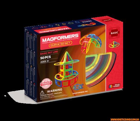Magformers 50 элементов. Набор Дуга Магформерс