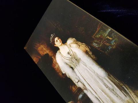 Икона святая царица Александра Федоровна авт. Бодаревский на дереве на левкасе  мастерская Иконный Дом