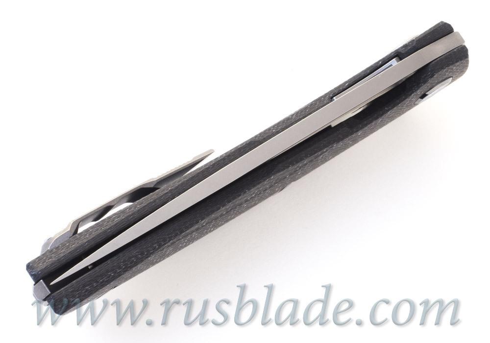 Shirogorov 111 M390 WHITE CF 3D groove MRBS