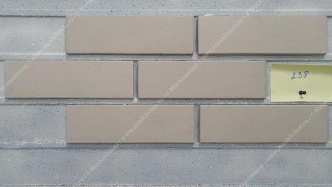 Stroeher - 238 aluminium matt, Keravette, unglasiert, неглазурованная, гладкая, 240x71x11 - Клинкерная плитка для фасада и внутренней отделки