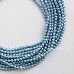 5810 Хрустальный жемчуг Сваровски Crystal Iridescent Light Blue круглый 3 мм, 10 шт