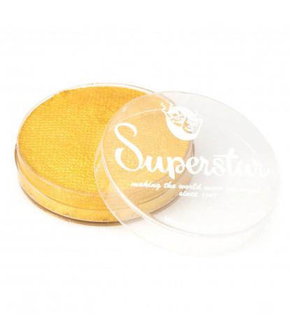 066 Аквагрим Superstar 16 гр перламутровый золотой с блестками