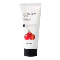 Tony Moly Clean Dew Foam Cleanser Acerola - Пенка для умывания для уставшей кожи с ацеролой