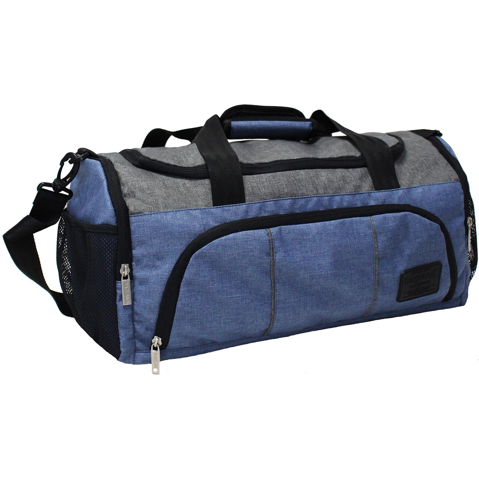 Спортивные сумки Сумка Bagland Bloom 30 л. Синий/серый (0030869) IMG_0911.JPG