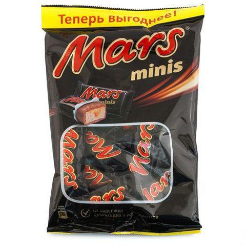 """Шоколадные батончики """"Mars"""" minis, 180 г"""