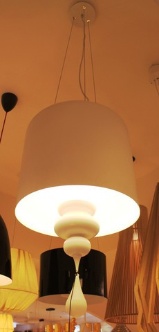 replica  Eva S3+1 pendant lamp (white