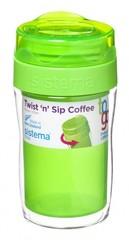 Стакан для кофе To-go Sistema, зеленый