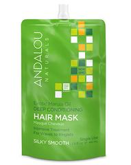"""Маска для восстановления жёстких и вьющихся волос """"Экзотическое масло Марулы"""", Andalou Naturals"""