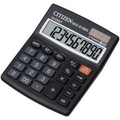 Калькулятор настольный CITIZEN бухг. SDC810BN 10 разрядов DP