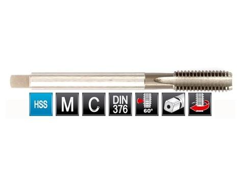 Метчик М16х2,0 (Машинный) DIN376 2N(6h) C/2P HSS L110мм Bucovice(CzTool) 104160