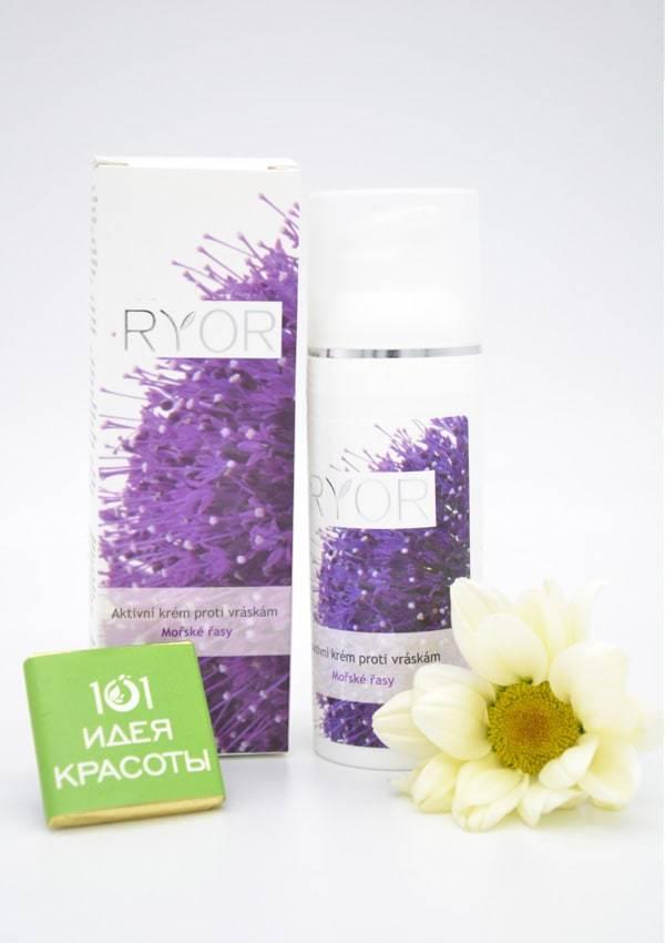 Ryor Крем для лица и век против морщин с морскими водорослями и гиалуроновой кислотой (30+)