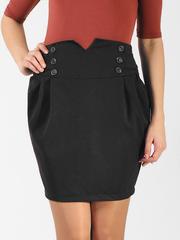 5507 юбка черная