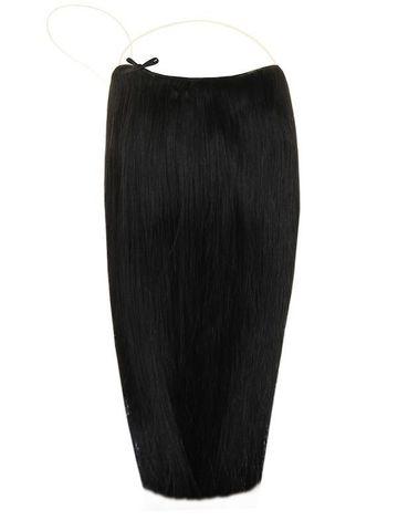 Волосы на леске Flip in- цвет #1B- длина 60 см