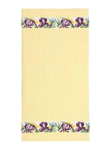 Полотенце 68x150 Feiler Iris желтое
